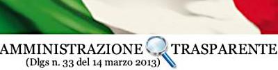 Link alla sezione Amministrazione trasparente